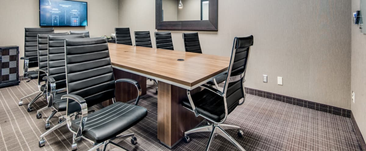 North Irving 10 Person Conference Room - Great Amenities! in Irving Hero Image in Las Colinas, Irving, TX