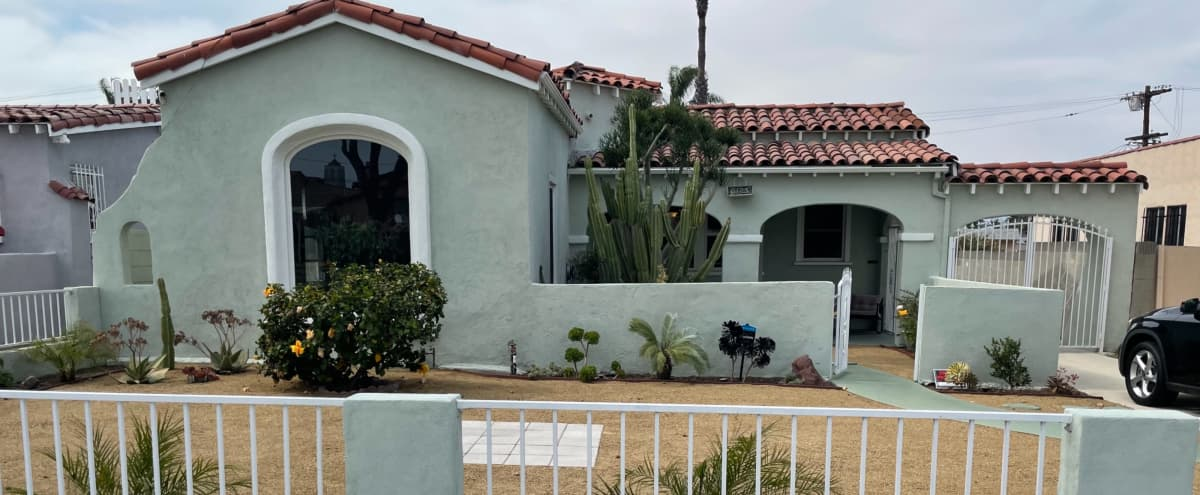 Urban Spanish Stucco House with an Amazing Large Bedroom in Los Angeles Hero Image in South Los Angeles, Los Angeles, CA