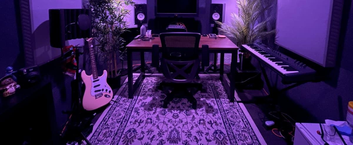 Vibey Music Studio for Film / Photoshoot Rental in Bushwick in Brooklyn Hero Image in Bushwick, Brooklyn, NY