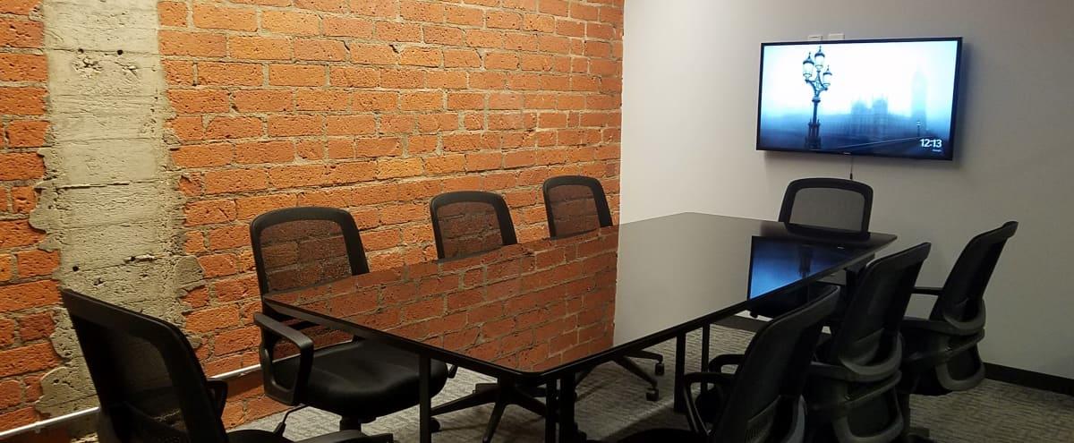Modern Meeting Room with Glass Tabletop in Bellflower Hero Image in undefined, Bellflower, CA