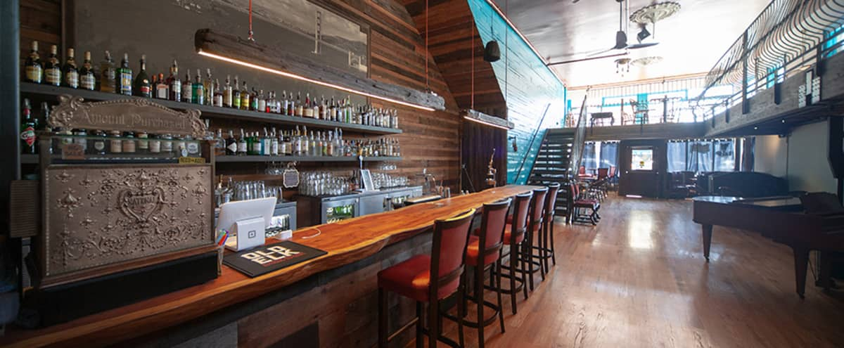 BUYOUT: $10,000 - Large Light-Filled & Flexible Event Space with Bar in San Francisco Hero Image in Mission District, San Francisco, CA