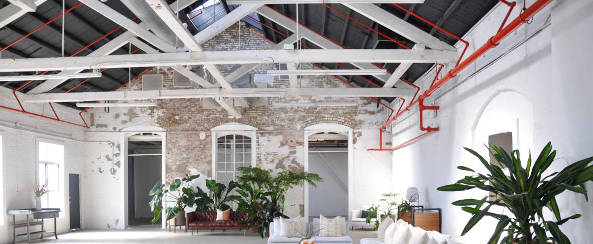 Modern Bohemian Styled A-frame Loft Building with Great Natural Light & Parking in Brooklyn Hero Image in Red Hook, Brooklyn, NY