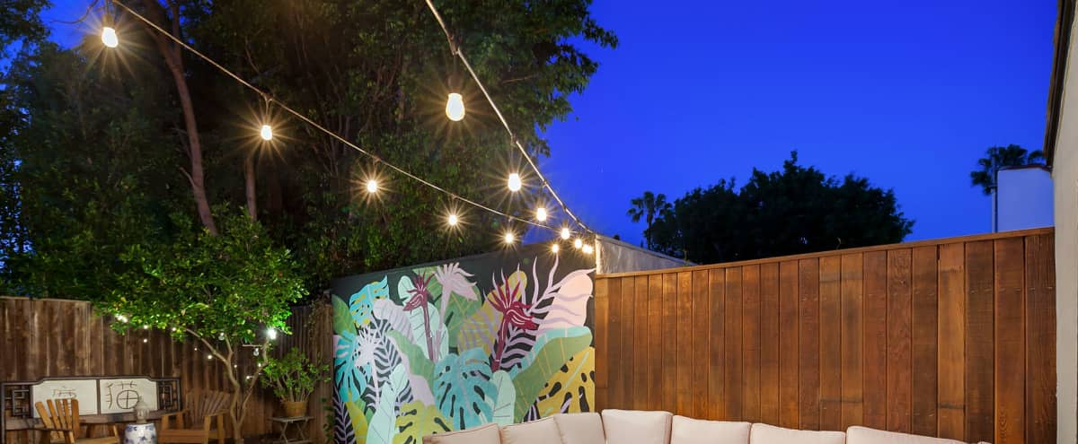 Trendy House with Big Back Yard in Los Angeles Hero Image in Mid-City, Los Angeles, CA