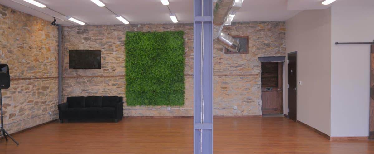 Spacious Studio With Exposed Stone Wall in Glenside Hero Image in null, Glenside, PA