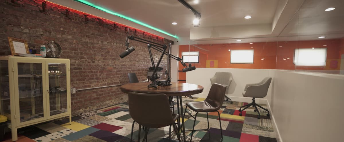 Exposed Brick Space For Podcast Recording & Filming in Irvington Hero Image in undefined, Irvington, NJ