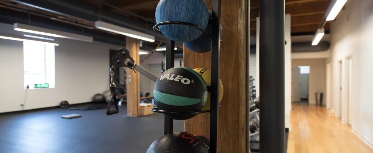 Wellness + Fitness Studio Available for Production Use in River North in Chicago Hero Image in River North, Chicago, IL