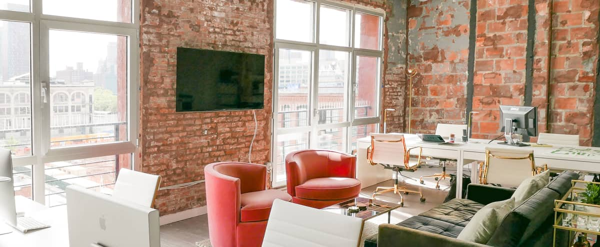 Bright and Spacious Dumbo Office in Brooklyn Hero Image in Vinegar Hill, Brooklyn, NY