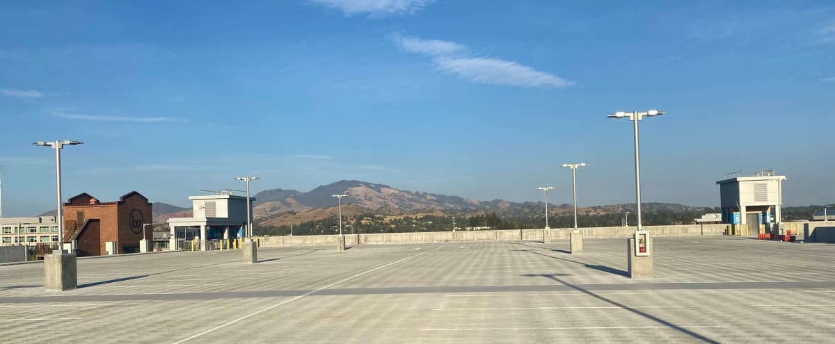 One of a Kind 20,000 sf Rooftop with Views! in Walnut Creek Hero Image in Parking lot, Walnut Creek, CA
