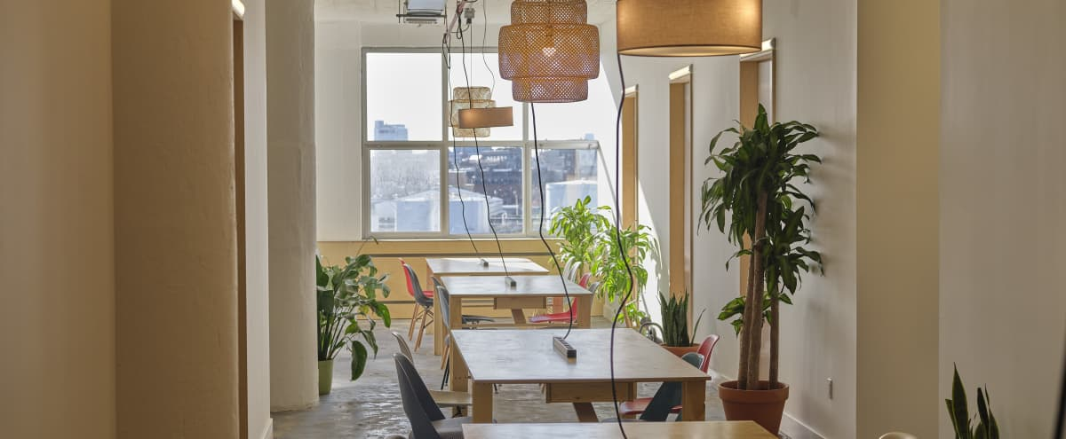 Industrial Central Co-working Studios with Manhattan Views in Long Island City Hero Image in Hunters Point, Long Island City, NY