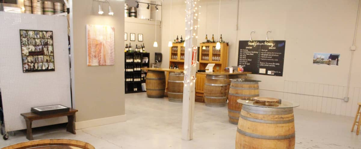 Spacious Urban Winery with Outdoor Patio & Great Lighting in Seattle Hero Image in Interbay, Seattle, WA