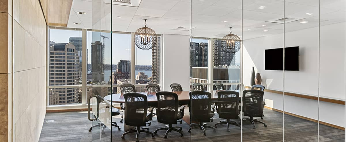 Stunning meeting room on the 21st floor with city view in Seattle Hero Image in Belltown, Seattle, WA
