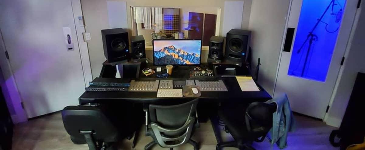 Suburban Intimate Recording Studio in Granada Hills Hero Image in Granada Hills, Granada Hills, CA
