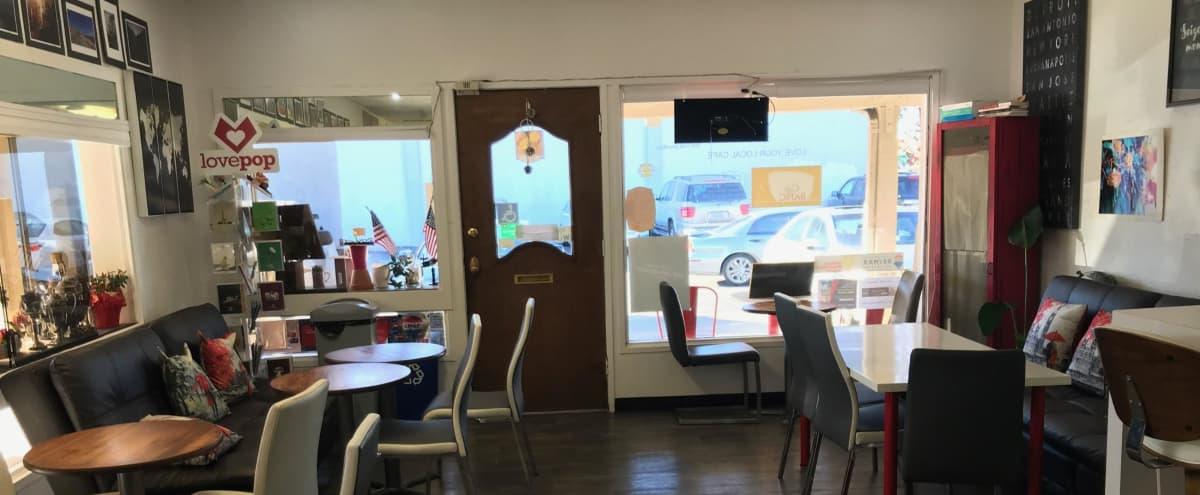 Coffee Shop, Tea House, Community Hub, Shared Workspace Cafe in Saratoga Hero Image in undefined, Saratoga, CA