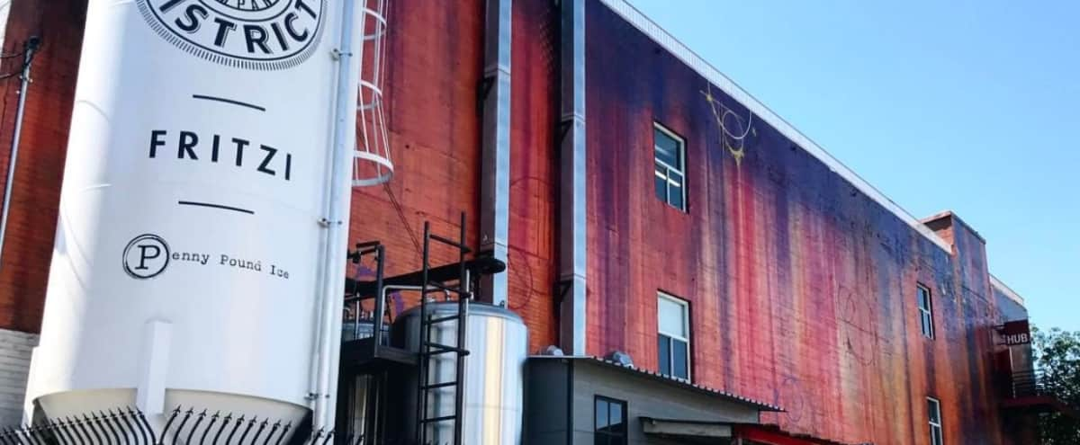 Industrial-style building with multiple spaces in the Arts District in Los Angeles Hero Image in Central LA, Los Angeles, CA