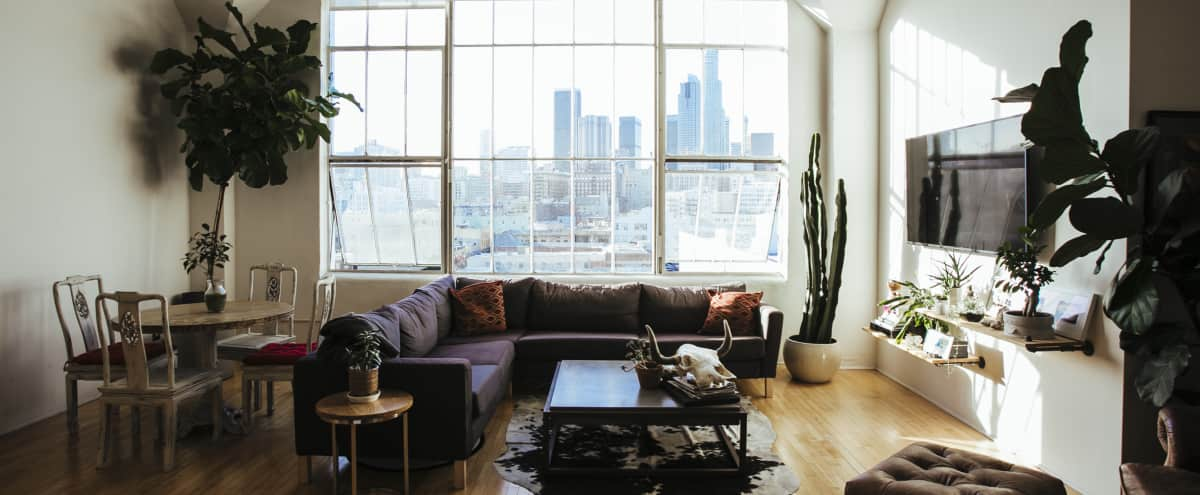 Downtown Los Angeles Loft with North-Facing Skyline View in LOS ANGELES Hero Image in Central LA, LOS ANGELES, CA