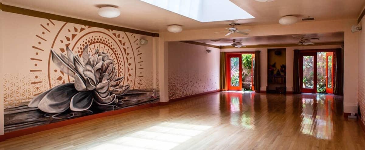Yoga Studio in the Mission in San Francisco Hero Image in Mission Dolores, San Francisco, CA