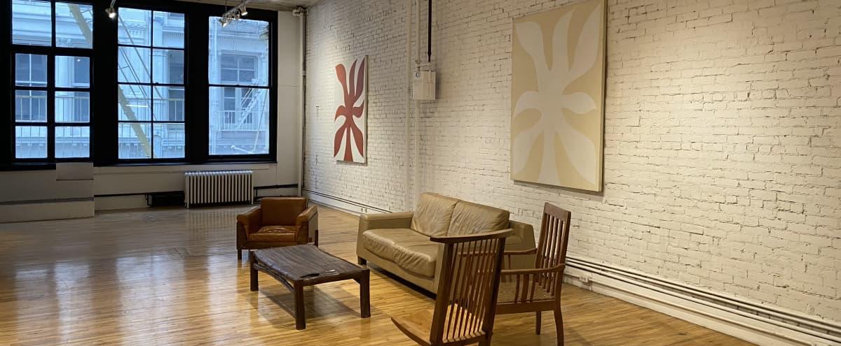 Full Floor Amazing Light Open Loft Space in Prime SoHo in New York Hero Image in Lower Manhattan, New York, NY