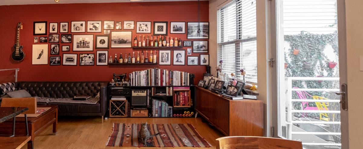 Artists Duplex with back yard in Williamsburg in Brooklyn Hero Image in Williamsburg, Brooklyn, NY