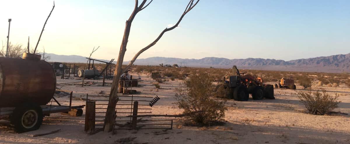 Stunning Vistas & Desert Ranch with Built-In Backdrops in Twentynine Palms Hero Image in Wonder Valley, Twentynine Palms, CA