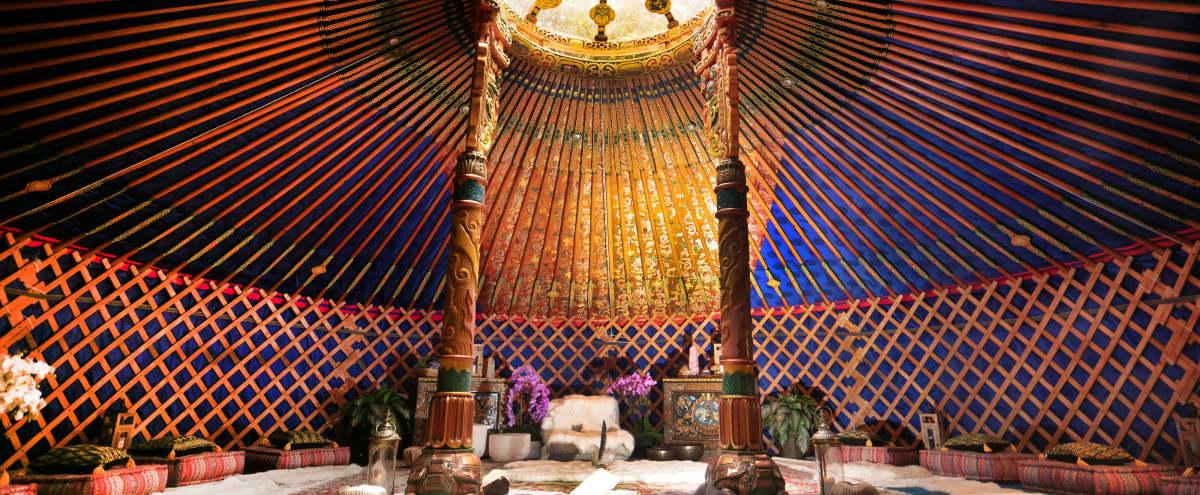 Hand Carved Mongolian Yurt in topanga Hero Image in undefined, topanga, CA