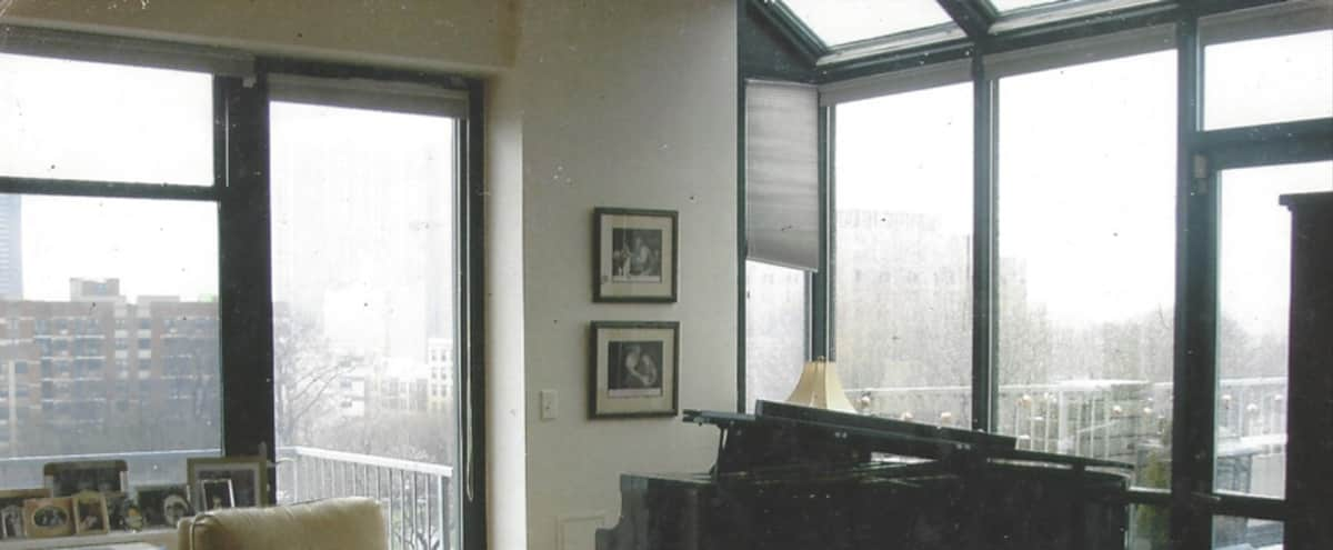 Harlem Penthouse with Roof Garden and Manhattan Views in New York Hero Image in Upper Manhattan, New York, NY