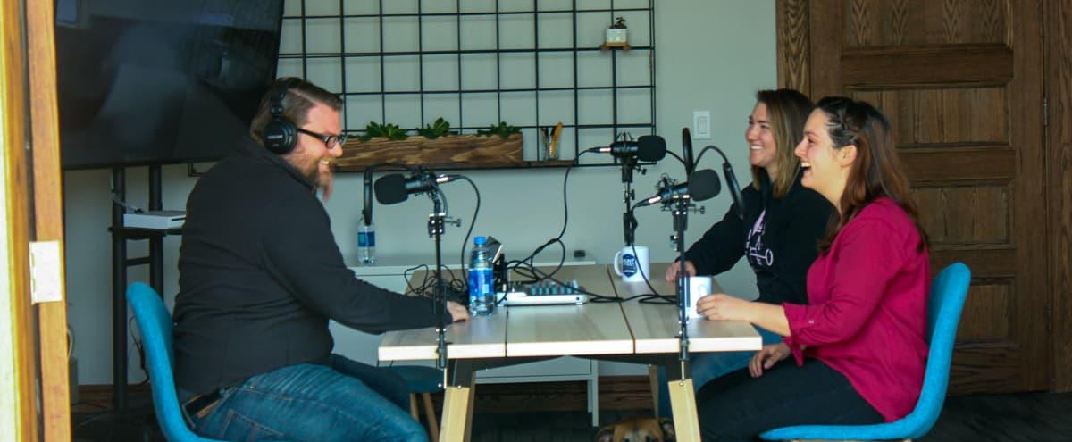 Spacious Podcast Room in Detroit - Natural Light in Detroit Hero Image in McDougall - Hunt, Detroit, MI