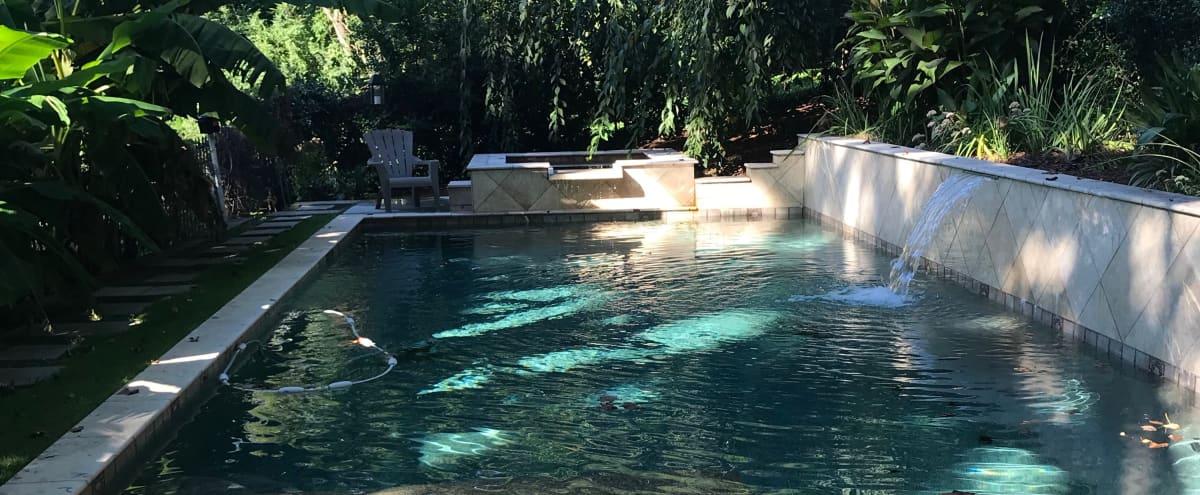 Intown Pool and Spa with Pool House in Atlanta Hero Image in Ormewood Park, Atlanta, GA