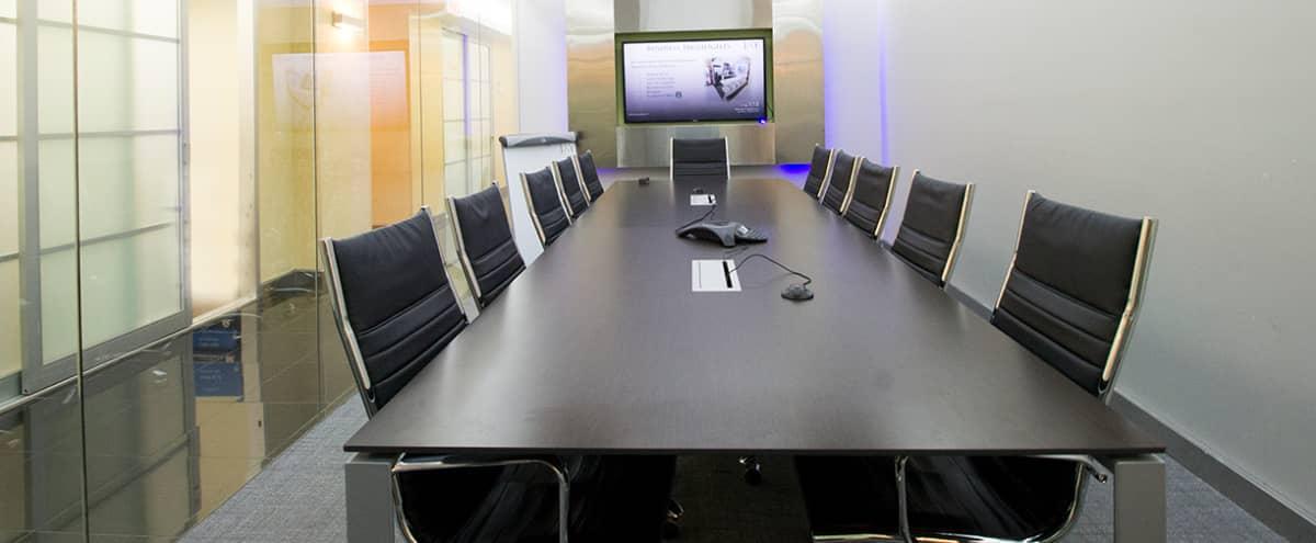 Modern Meeting Room C for 12 - Meeting Room C - HS in New York Hero Image in Midtown, New York, NY