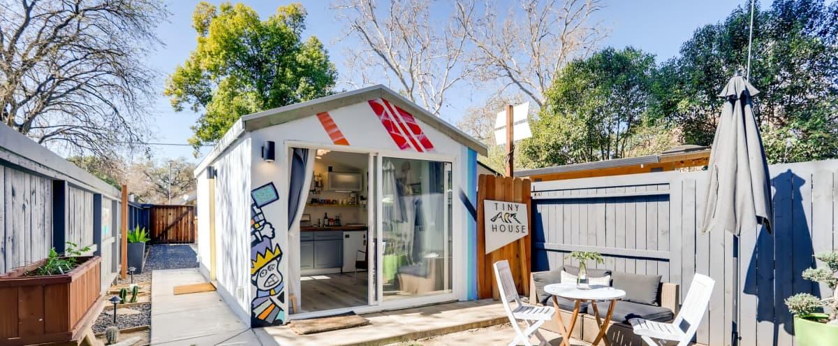 Tiny Art House with a Convertible Space in Sacramento Hero Image in Central Oak Park, Sacramento, CA