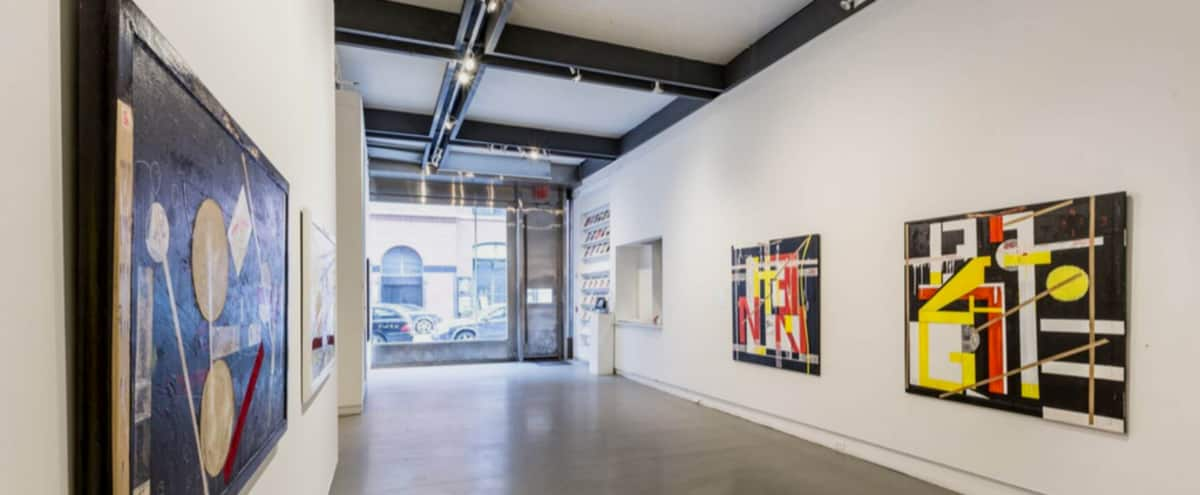 Elegant Street Level Gallery Space in New York Hero Image in Midtown, New York, NY