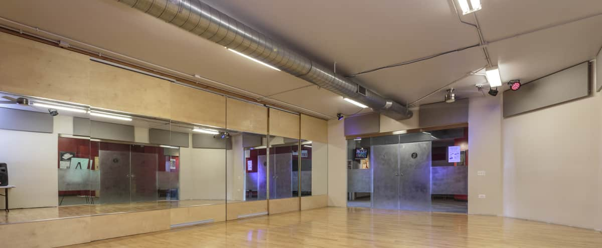 30 Person Dance Studio | Great for Creatives | South Loop in Chicago Hero Image in South Loop, Chicago, IL