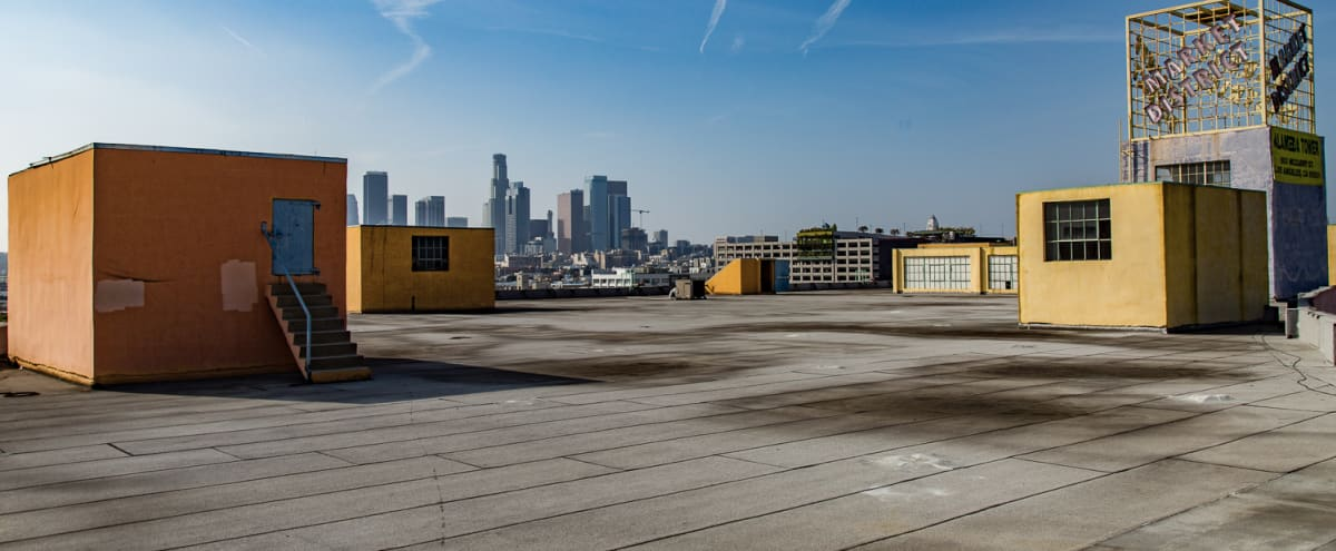 Amazing Gigantic Rooftop With Scenic Views (Rooftop C) in Los Angeles Hero Image in Central LA, Los Angeles, CA