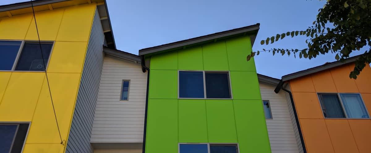 Radioactive Green Townhome in Seattle Hero Image in Brighton, Seattle, WA