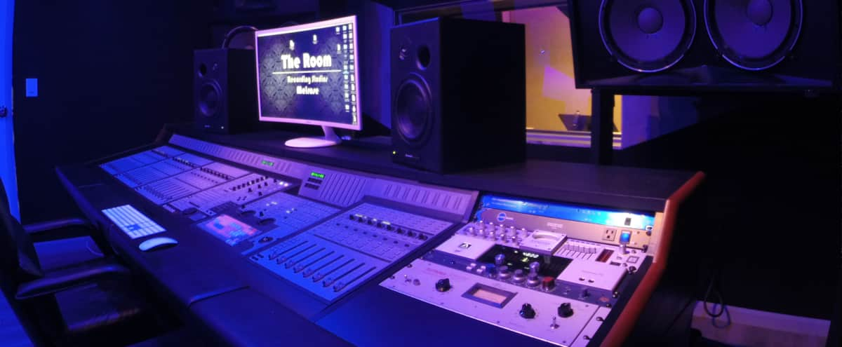 Recording Studio Music Production Room in West Hollywood Hero Image in West Hollywood, West Hollywood, CA