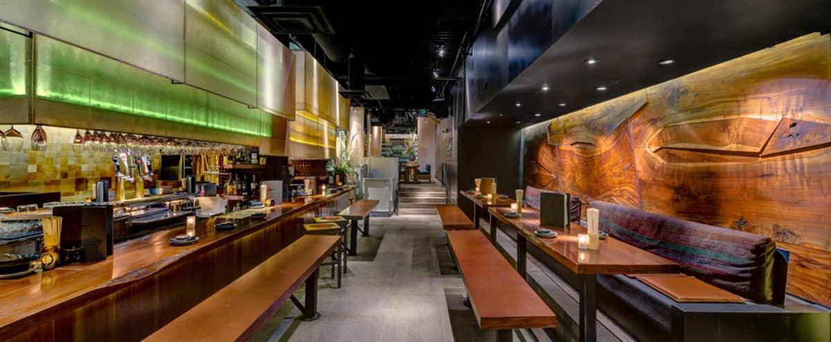Japanese Style Sake Lounge in San Francisco Hero Image in South Beach, San Francisco, CA