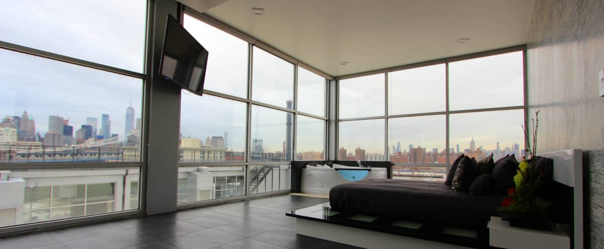 Dumbo Luxurious Penthouse Suite in Brooklyn Hero Image in Vinegar Hill, Brooklyn, NY