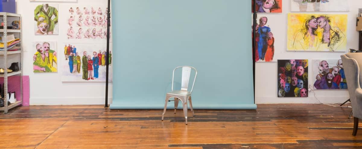 Large, Warm Artist Loft & Studio in Brooklyn in Brooklyn Hero Image in Bedford-Stuyvesant, Brooklyn, NY