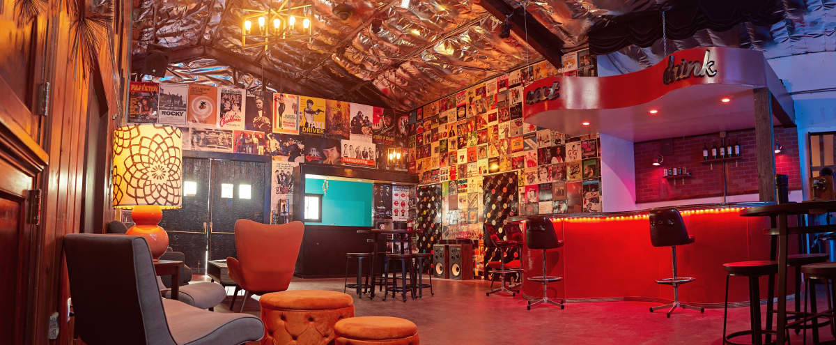 Retro Lounge/Bar with a fully equipped Theatre/Performance Space in West Hollywood Hero Image in Central LA, West Hollywood, CA