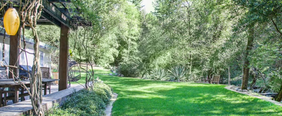 Modern House / Secluded Outdoors Setting  - with a pool in Kenwood Hero Image in undefined, Kenwood, CA