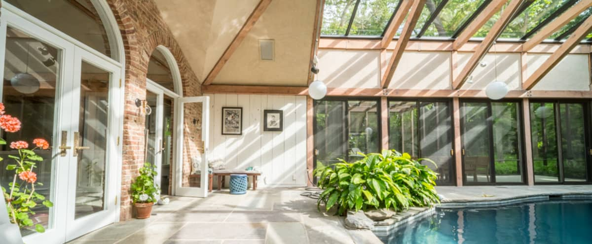 Mid Century / Modern Architectural Retreat in Cove Neck Hero Image in undefined, Cove Neck, NY