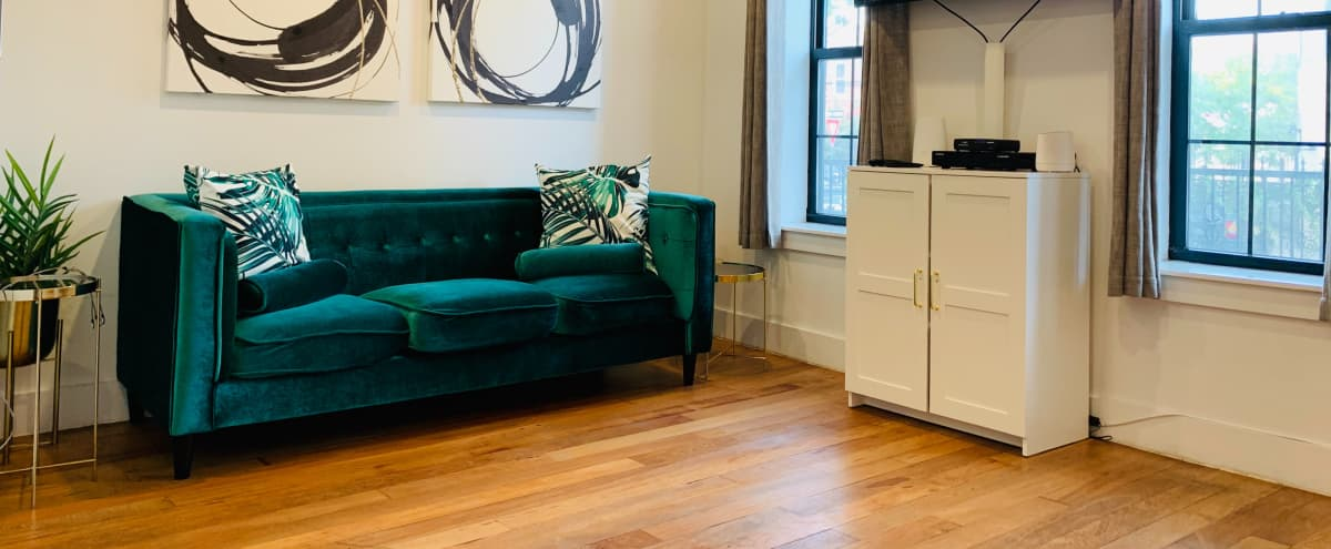 Beauty In The East - Modern, Luxurious, Furnished Multi-Purpose Space in Brooklyn Hero Image in East New York, Brooklyn, NY