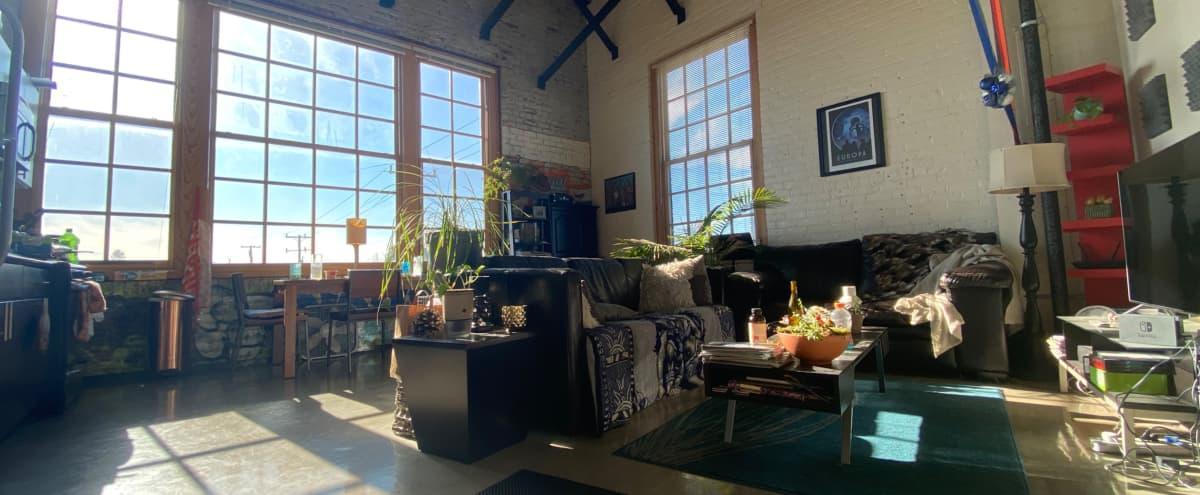 Natural Light-filled Urban Loft Studio in Oakland Hero Image in Prescott, Oakland, CA