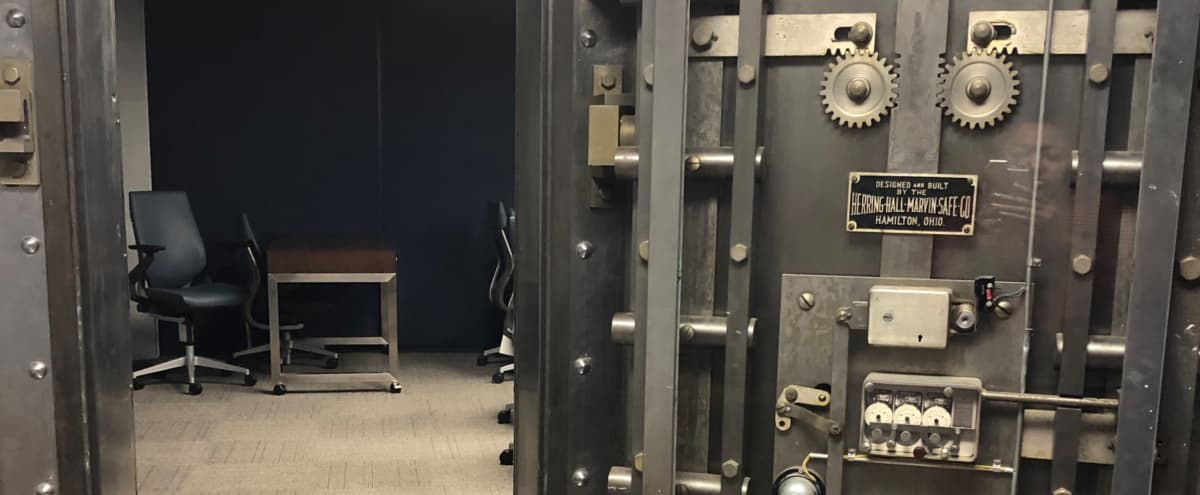 Fully Equipped Bank Vault Conference Room with Breakout Space in Ontario Hero Image in undefined, Ontario, CA