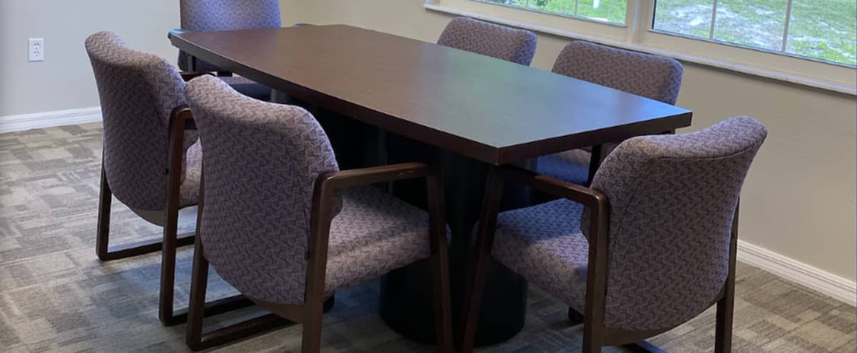 Comfortable Conference Room in Tampa in Tampa Hero Image in Citrus Park Community, Tampa, FL