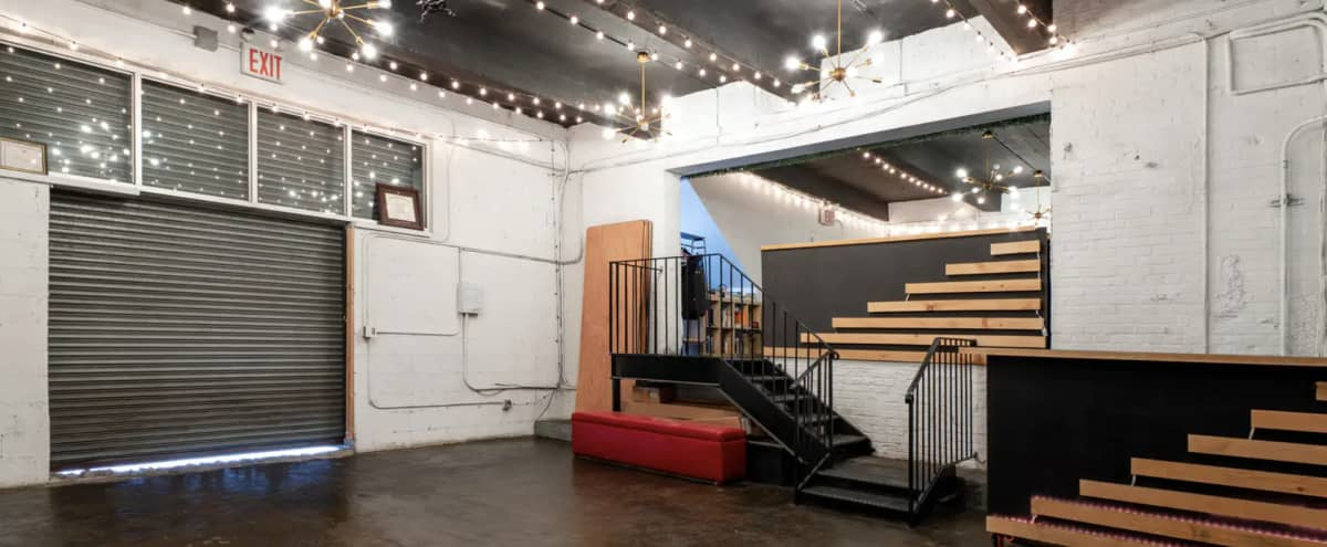 1,200sqft Creative Event Space in Brooklyn in Brooklyn Hero Image in East Williamsburg, Brooklyn, NY