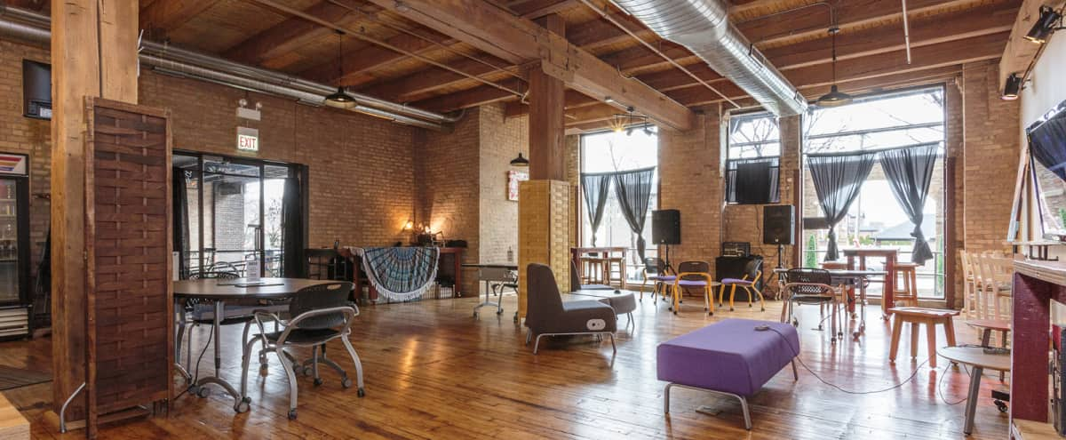 Historic Bridgeport Mixed-Use Timber Loft Space in Chicago Hero Image in Bridgeport, Chicago, IL