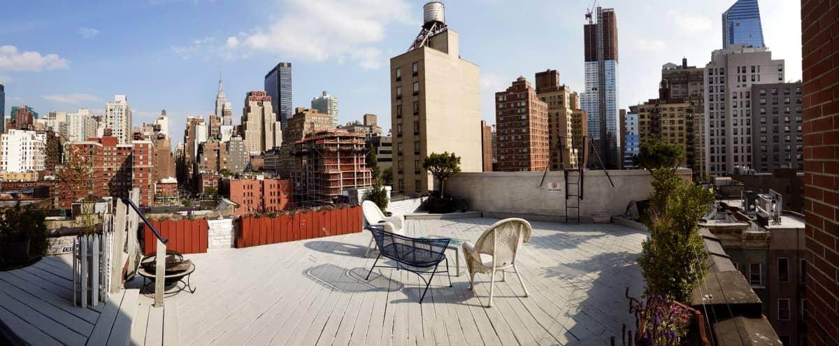 Hells Kitchen Rooftop with unmatched Iconic View in New York Hero Image in Hell's Kitchen, New York, NY