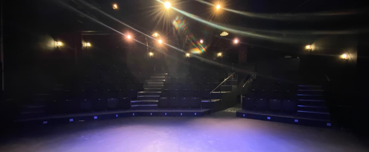 MEETINGS/REHEARSALS/CLASSES Large multi-functional Black Box Theatre in East Hollywood in Los Angeles Hero Image in Hollywood, Los Angeles, CA
