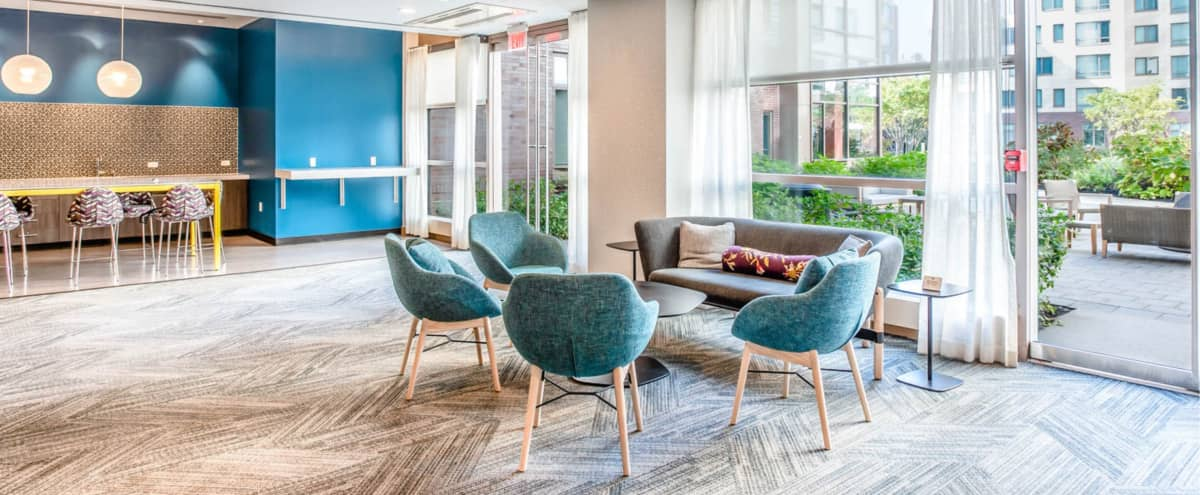 Vibrant Social Space with an Abundance of Natural Light in Cambridge Hero Image in Kendall Square, Cambridge, MA