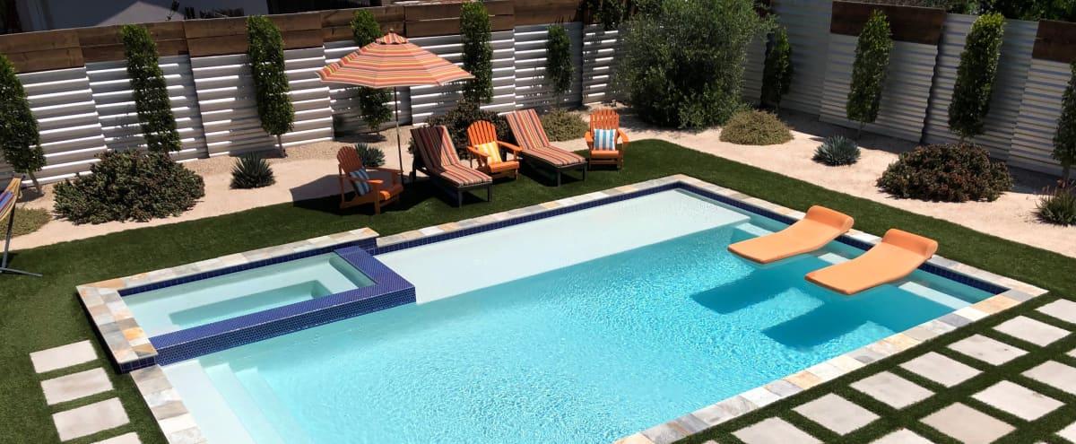 Palm Springs Desert Pool home in SFV! in Valley Glen Hero Image in Valley Glen, Valley Glen, CA